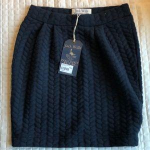 Jack Wills Navy Skirt